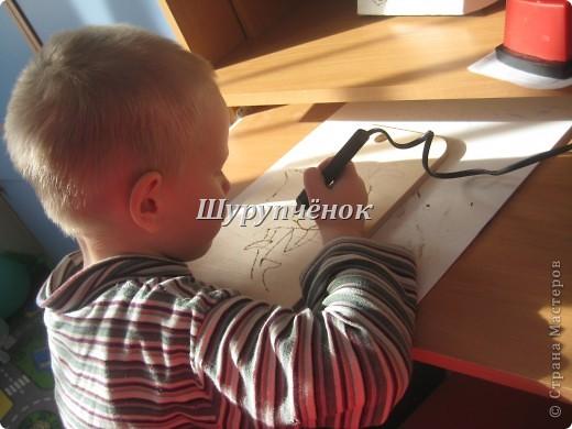 Коля (7 лет) за работой. фото 6