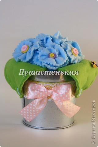 Розы из хлопка)) фото 4