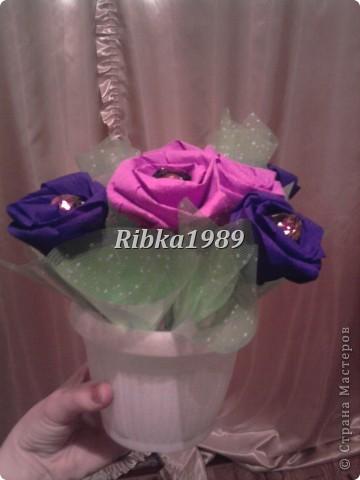 Этот букетик в подарок для тети на день рождения =) фото 1
