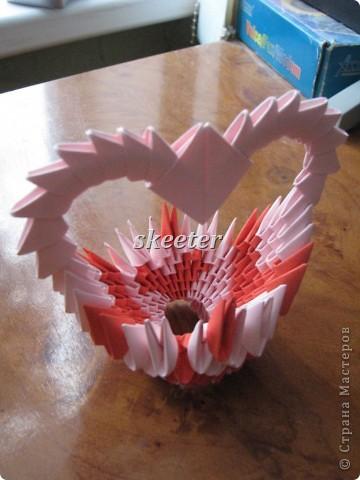 Вот такую вот поделаку я сделала на День Святого Валентина. Кстати, это была моя первая работа =) фото 4