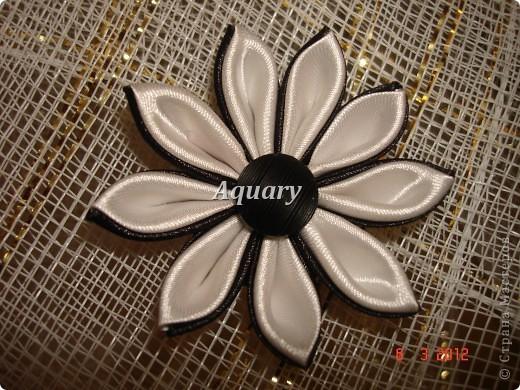 Цветы канзаши фото 10