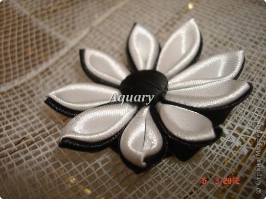 Цветы канзаши фото 9