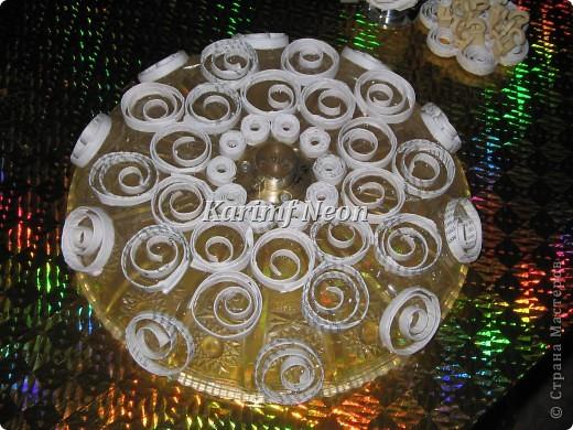 Идея была такая - поднять тарелку над столом! То есть, СДЕЛАТЬ ВТОРОЙ ЭТАЖ НА СТОЛЕ :)))  фото 4