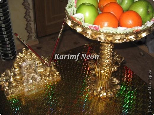 Идея была такая - поднять тарелку над столом! То есть, СДЕЛАТЬ ВТОРОЙ ЭТАЖ НА СТОЛЕ :)))  фото 8