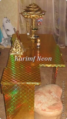 Идея была такая - поднять тарелку над столом! То есть, СДЕЛАТЬ ВТОРОЙ ЭТАЖ НА СТОЛЕ :)))  фото 12