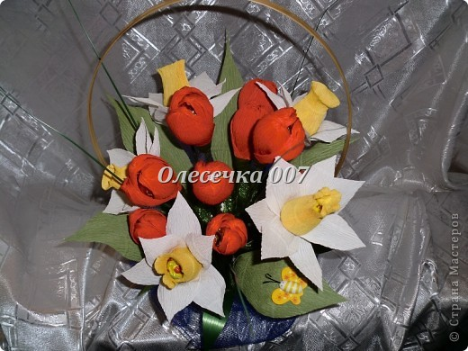 Тюльпаны с нарцисами фото 2