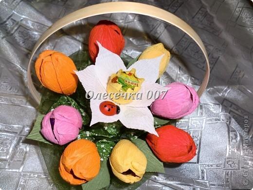 Тюльпаны с нарцисами фото 4