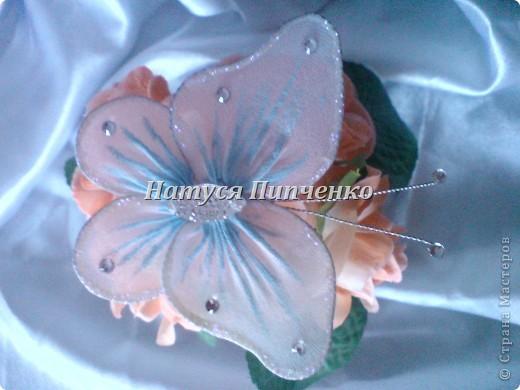 Бабочки из капроновых колготок своими руками мастер класс 3