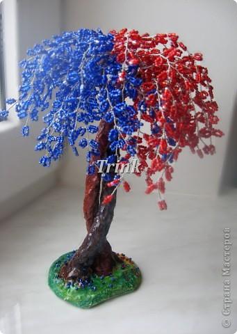 Дерево любви Бисер Гипс