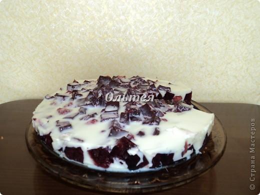 Рецепт этого необычного и замечательно торта я нашла на одном популярном сайте. Вот что у меня получилось.