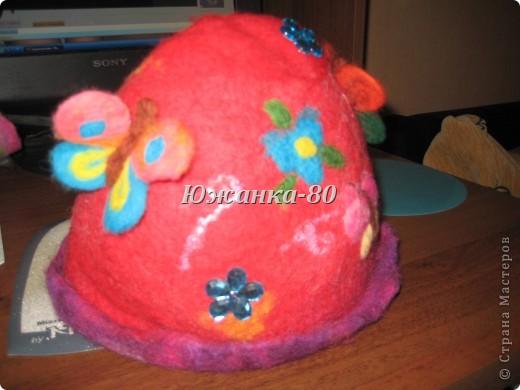 моя первая банная шапочка фото 2