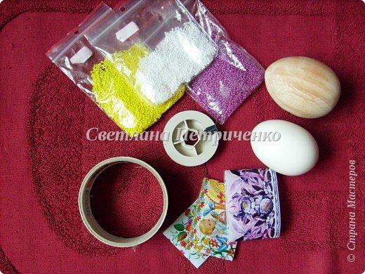 Мастер-класс Поделка изделие Пасха Бисероплетение МК яйцо оплетенное бисером Бисер фото 2