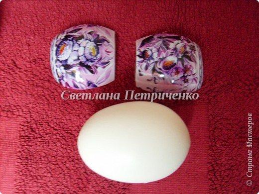 Мастер-класс Поделка изделие Пасха Бисероплетение МК яйцо оплетенное бисером Бисер фото 9