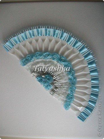 Попробуем сделать простой веер из пластмассовых      одноразовых вилок. фото 32