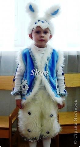 Новогодний костюм зайчика для мальчика | Страна Мастеров - photo#32