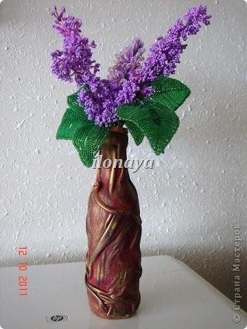 Напольная ваза,обтянута кожей фото 14
