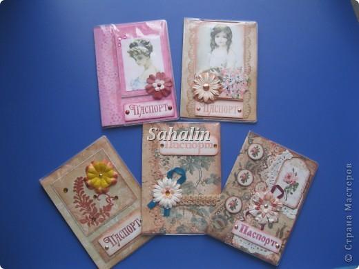Обложки для паспорта скрапбукинг фото