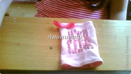 Вот такую перчаточку примерно мы будем делать! фото 1