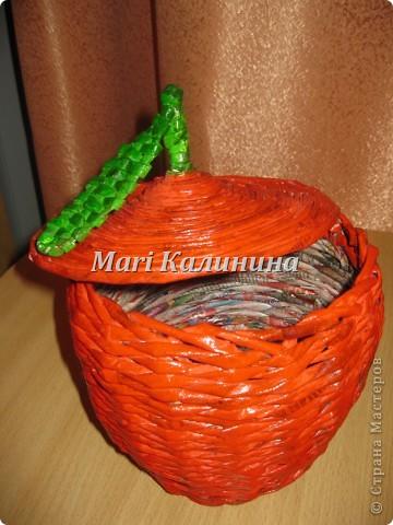 Яблочко для всяких мелочей фото 2