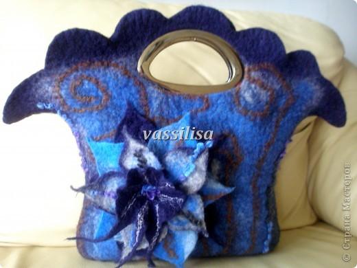 Доброго времени суток, уважаемые мастерицы!  Сваляла  вторую сумочку, для себя любимой :-) Здесь можно посмотреть первую мою сумочку http://stranamasterov.ru/node/336196  фото 8