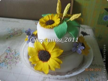 Торт-Подсолнухи