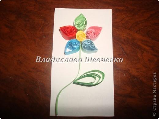 Берем полосочки по цвету как показано на фото фото 3