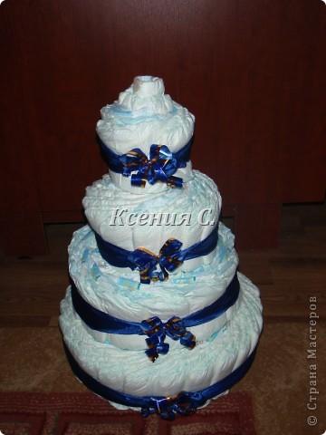 Тортик для подружки на рождение сына фото 1