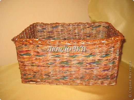 Моя первая корзиночка.  фото 10