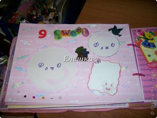 Альбом для новорожденной от рождения до года! уехал в Москву фото 18