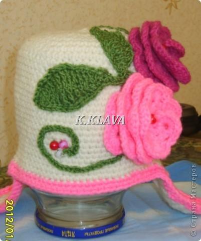 Детские шапочки фото 12
