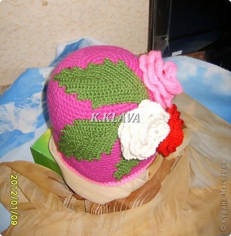 Детские шапочки фото 13
