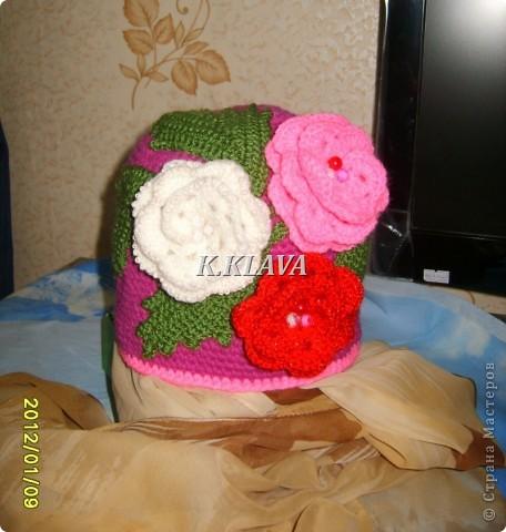 Детские шапочки фото 14