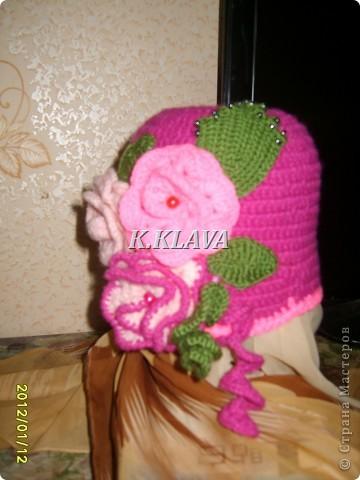 Детские шапочки фото 16