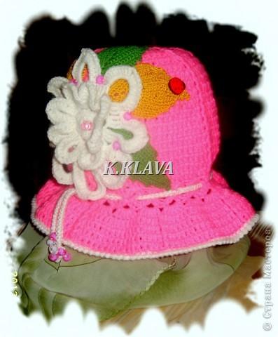 Детские шапочки фото 19