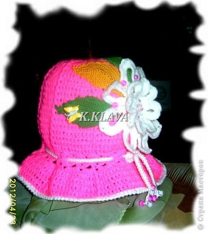 Детские шапочки фото 18