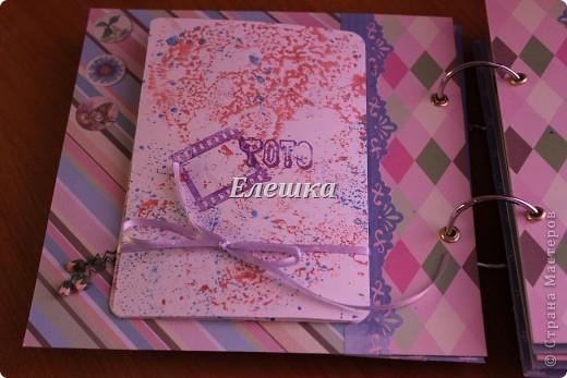 Вот такой альбомчик уехал от меня в Омск, одна очень милая девушка заказала его на годовщину отношений с молодым человеком))))  фото 4
