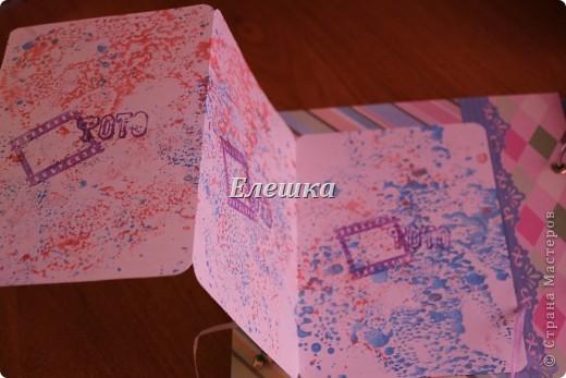 Вот такой альбомчик уехал от меня в Омск, одна очень милая девушка заказала его на годовщину отношений с молодым человеком))))  фото 5