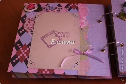 Вот такой альбомчик уехал от меня в Омск, одна очень милая девушка заказала его на годовщину отношений с молодым человеком))))  фото 7