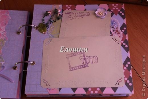 Вот такой альбомчик уехал от меня в Омск, одна очень милая девушка заказала его на годовщину отношений с молодым человеком))))  фото 8