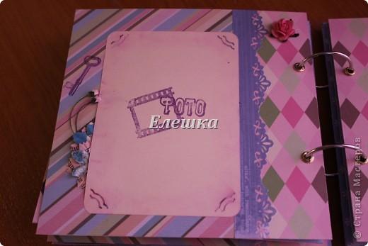 Вот такой альбомчик уехал от меня в Омск, одна очень милая девушка заказала его на годовщину отношений с молодым человеком))))  фото 9