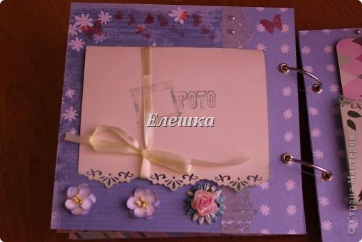 Вот такой альбомчик уехал от меня в Омск, одна очень милая девушка заказала его на годовщину отношений с молодым человеком))))  фото 13