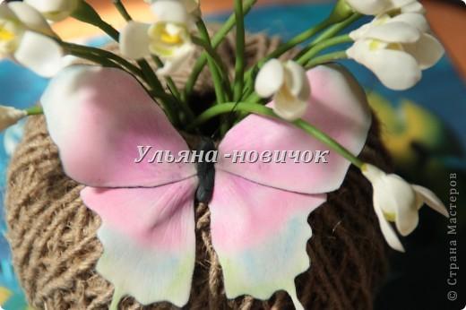 это зажим/брошь, то ли сакура, то ли розовая яблоня... в общем сама не поняла)))) фото 9
