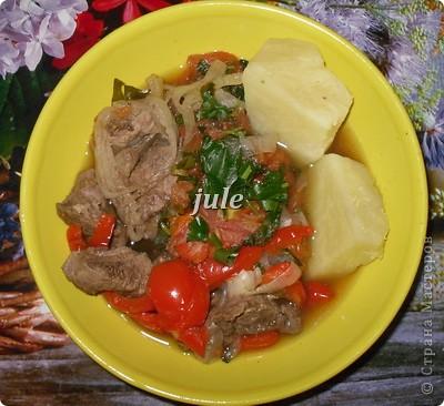 Этот рецепт увидела лет 5 назад в какой то кулинарной передаче и периодически готовлю это блюдо, мне оно очень нравится.  фото 1