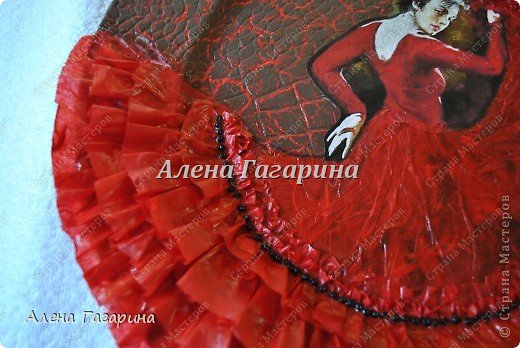 "Мастер-класс тарелки ""Танцовщица Фламенко"". фото 26"