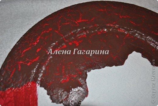 "Мастер-класс тарелки ""Танцовщица Фламенко"". фото 8"