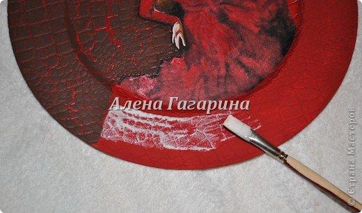 "Мастер-класс тарелки ""Танцовщица Фламенко"". фото 11"