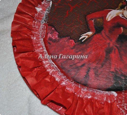 "Мастер-класс тарелки ""Танцовщица Фламенко"". фото 13"