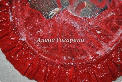 "Мастер-класс тарелки ""Танцовщица Фламенко"". фото 20"