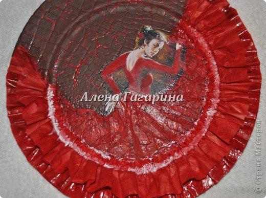 "Мастер-класс тарелки ""Танцовщица Фламенко"". фото 22"