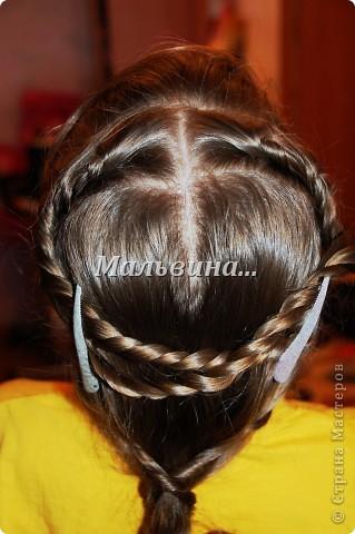 Удобно плетётся. Креативная причёска. Плохое исполнение,ночью делала. фото 3